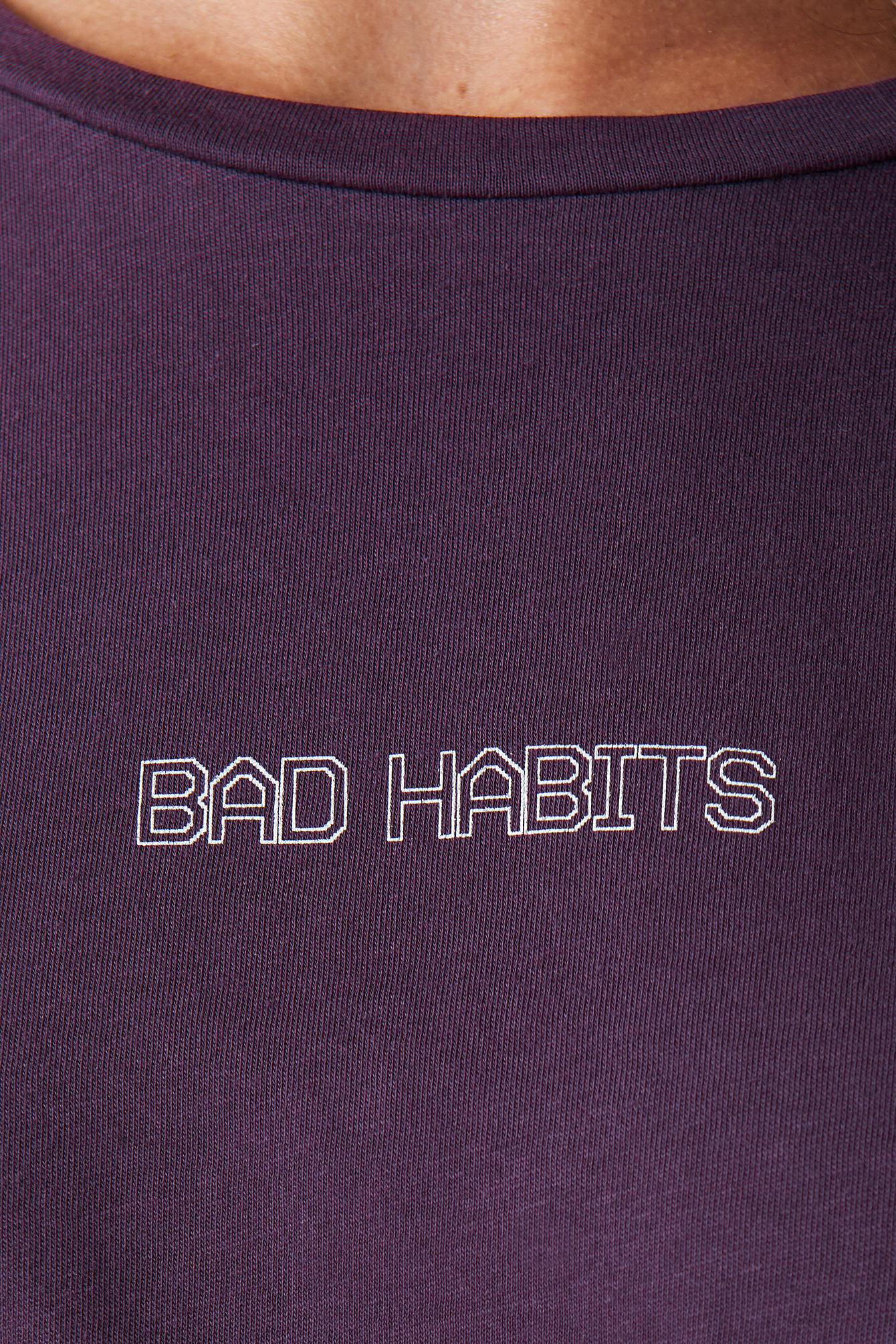 Bad Habits Oversized Tee NA-KD.COM