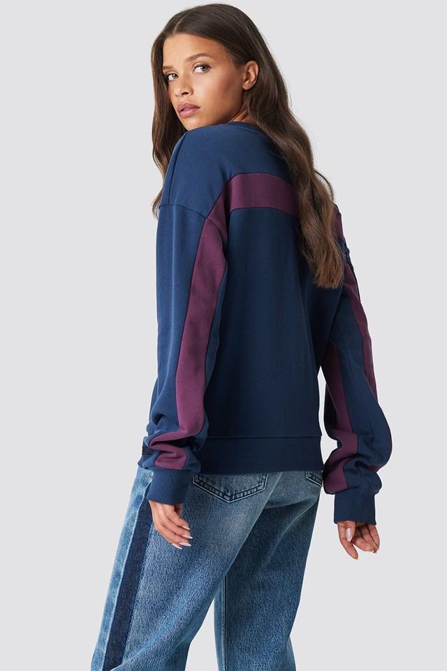 Blocked Sleeve Sweatshirt NA-KD.COM
