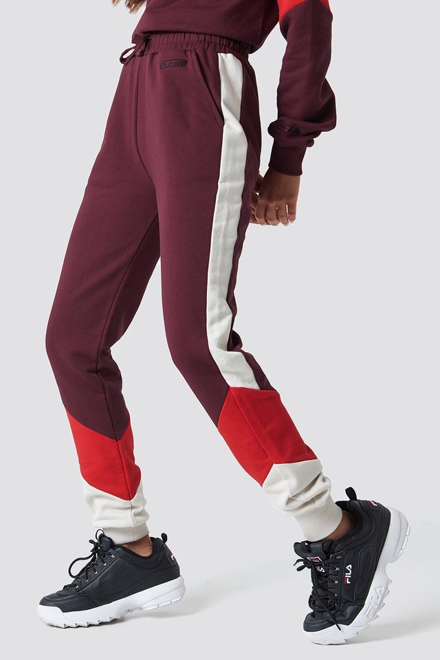 Blocked Sweatpants NA-KD.COM