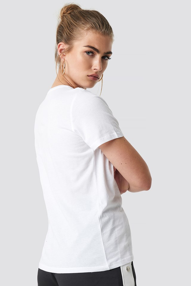 Conceal Basic Tee White