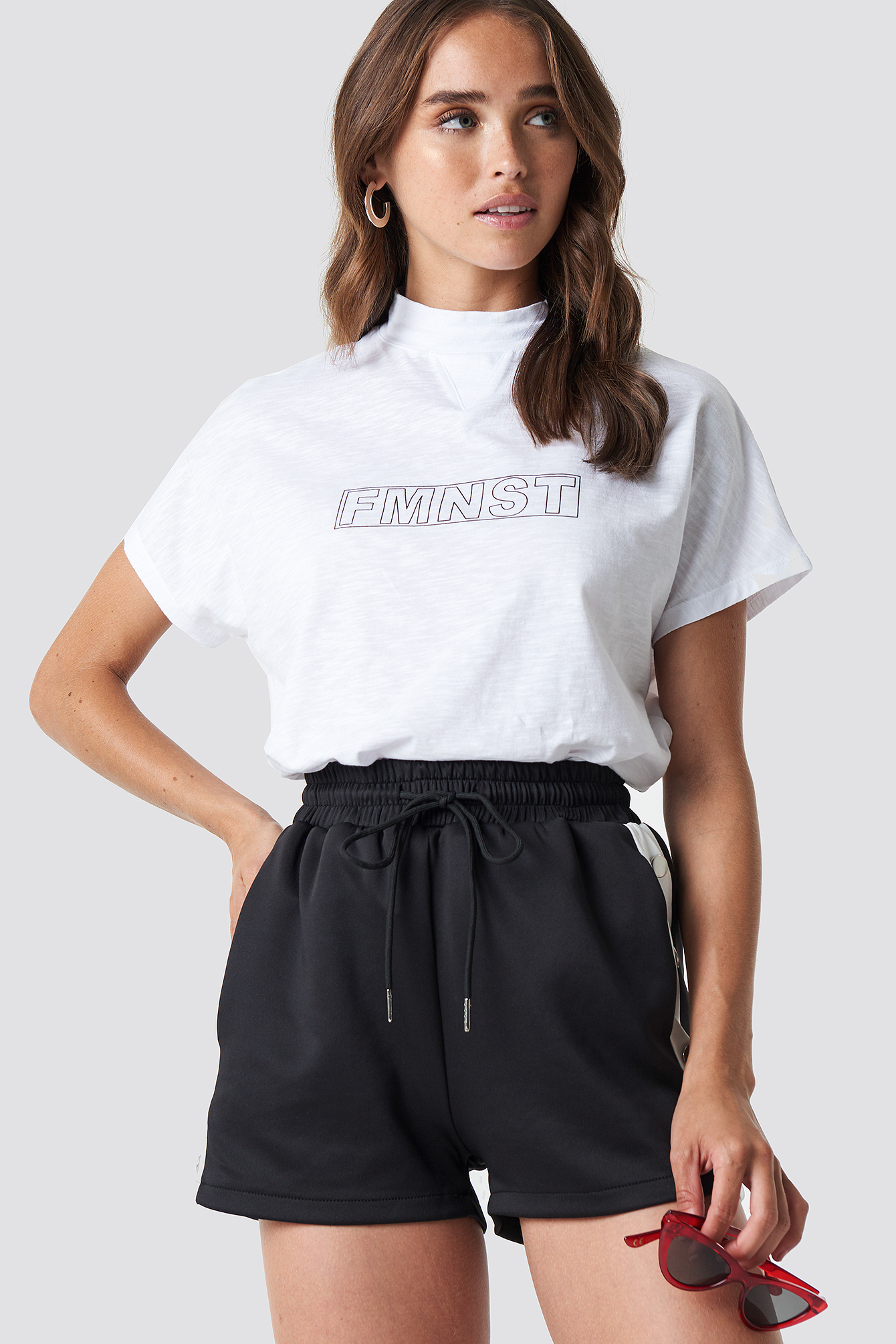 Fmnst Cap Sleeve Top NA-KD.COM