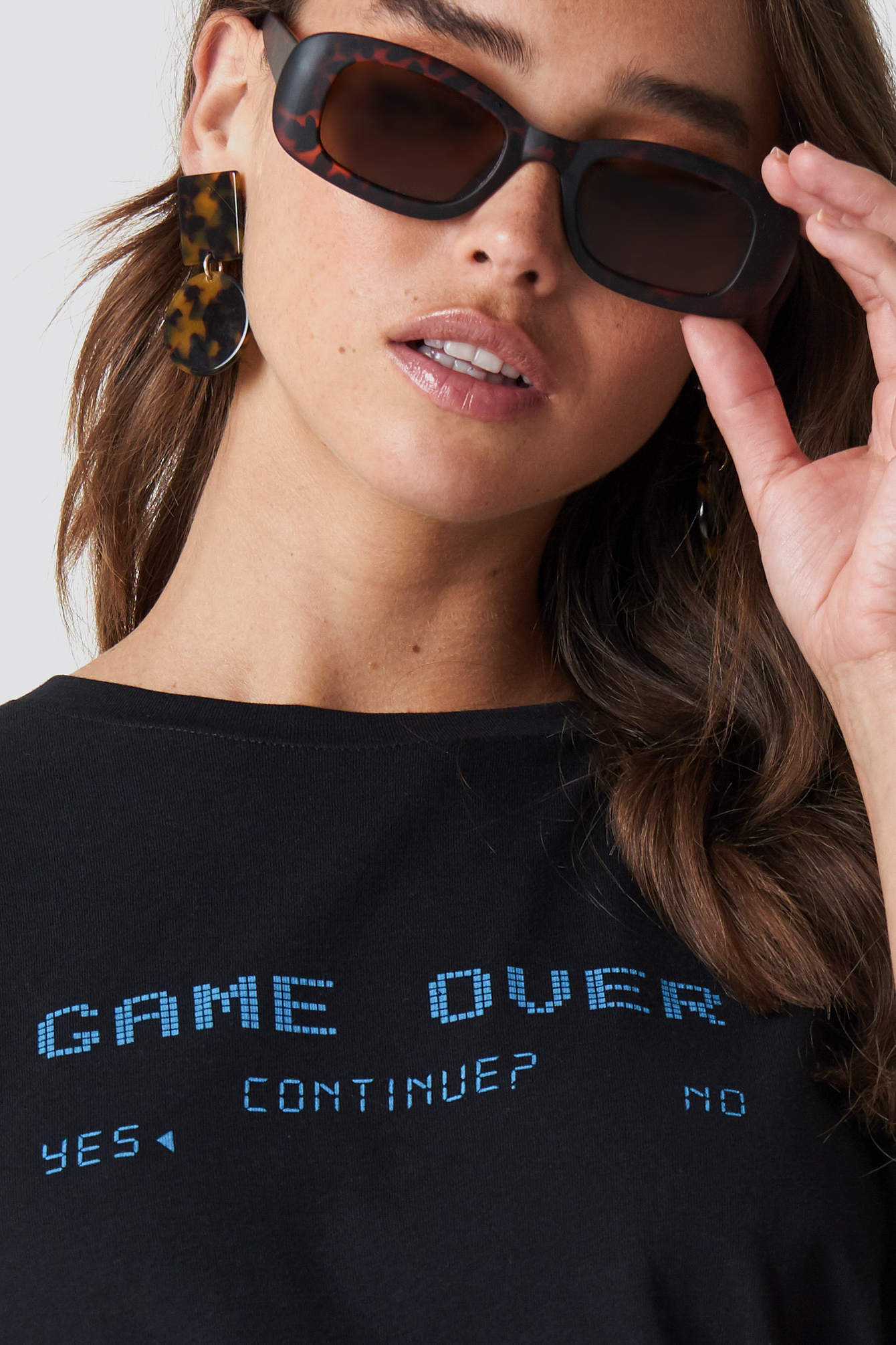 Game Over Oversized Tee NA-KD.COM