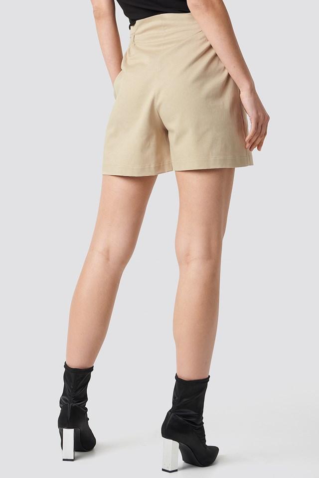 Gathered Waist Shorts NA-KD.COM