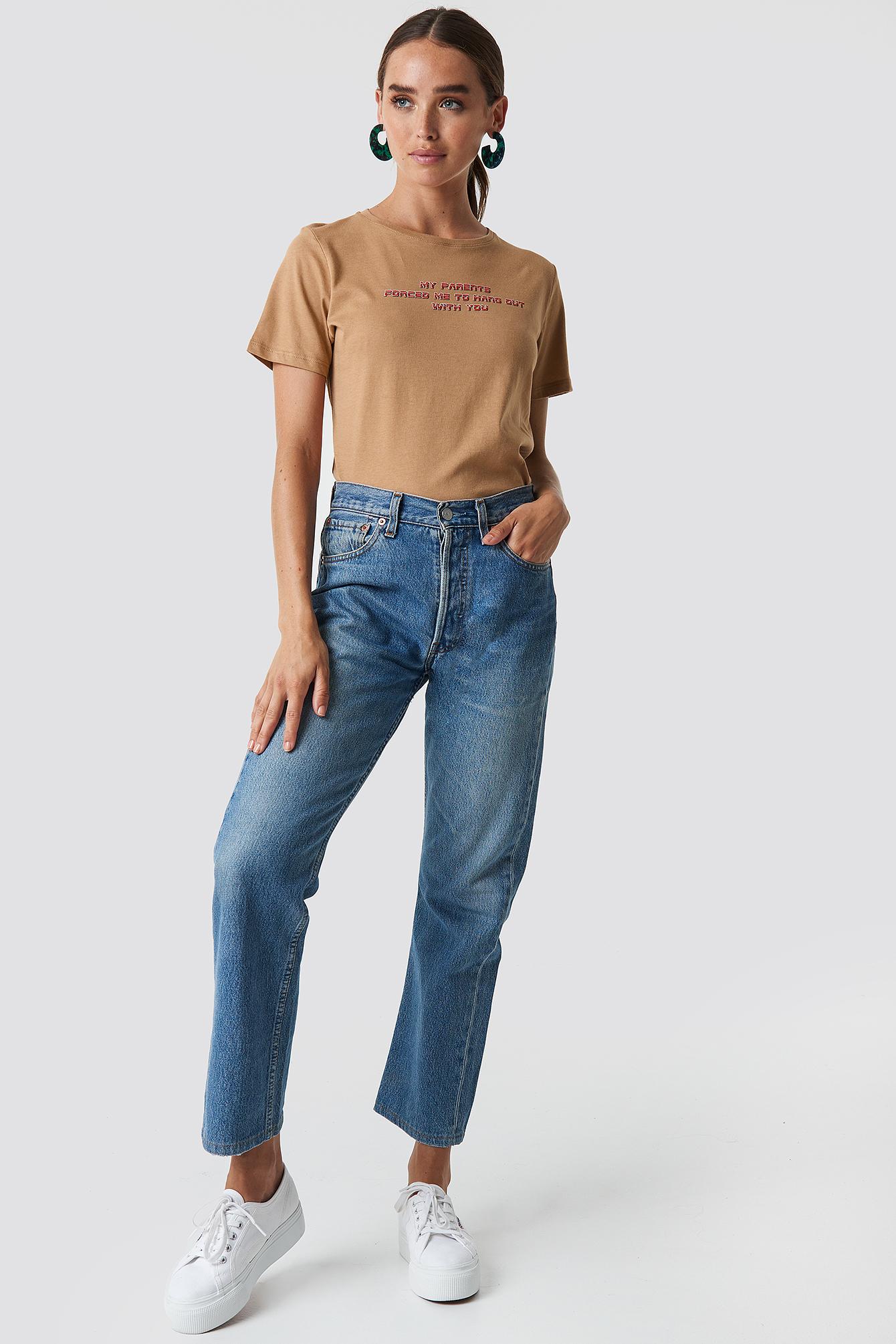 T-shirt Hang Out NA-KD.COM