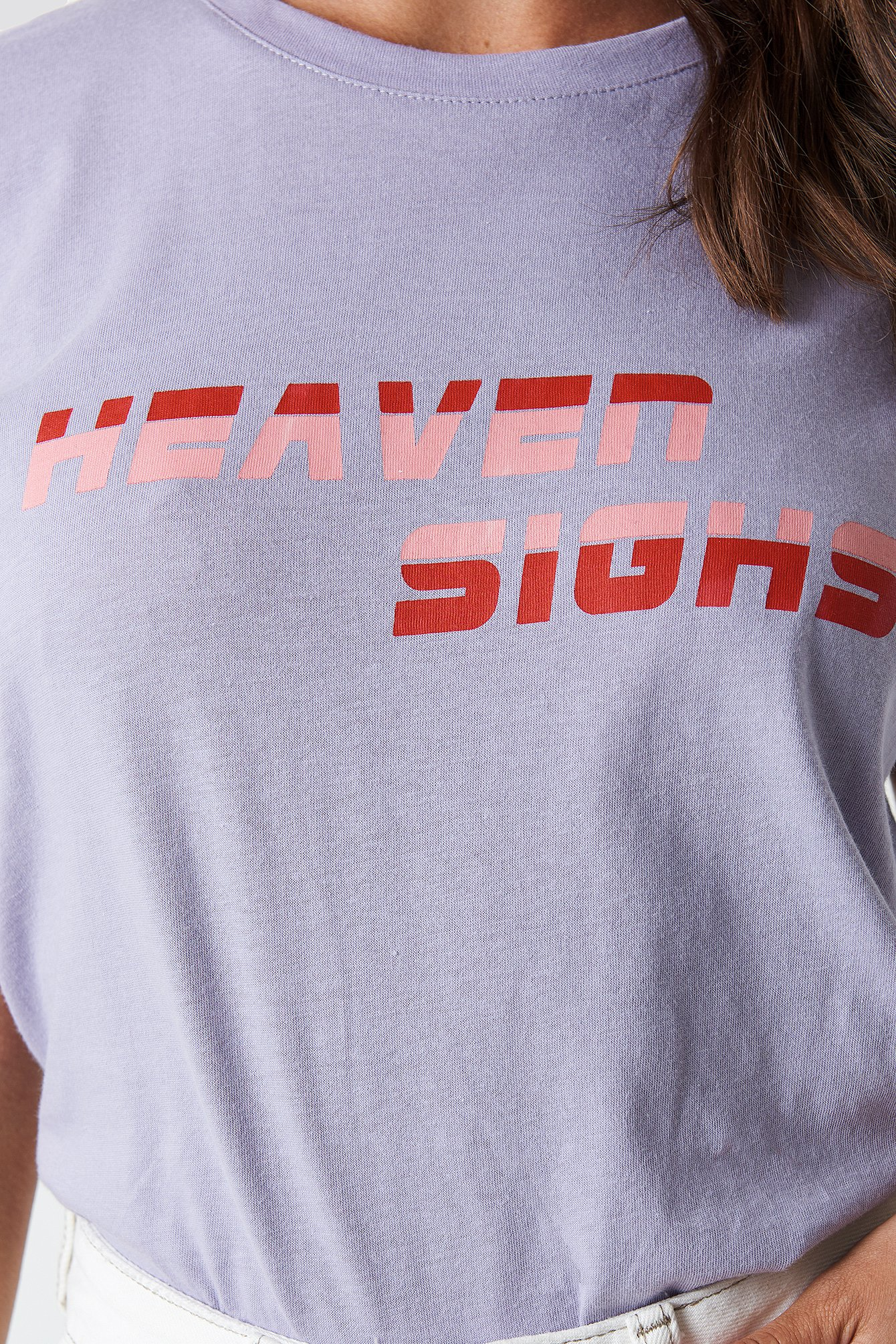 Heaven Sighs Tee NA-KD.COM