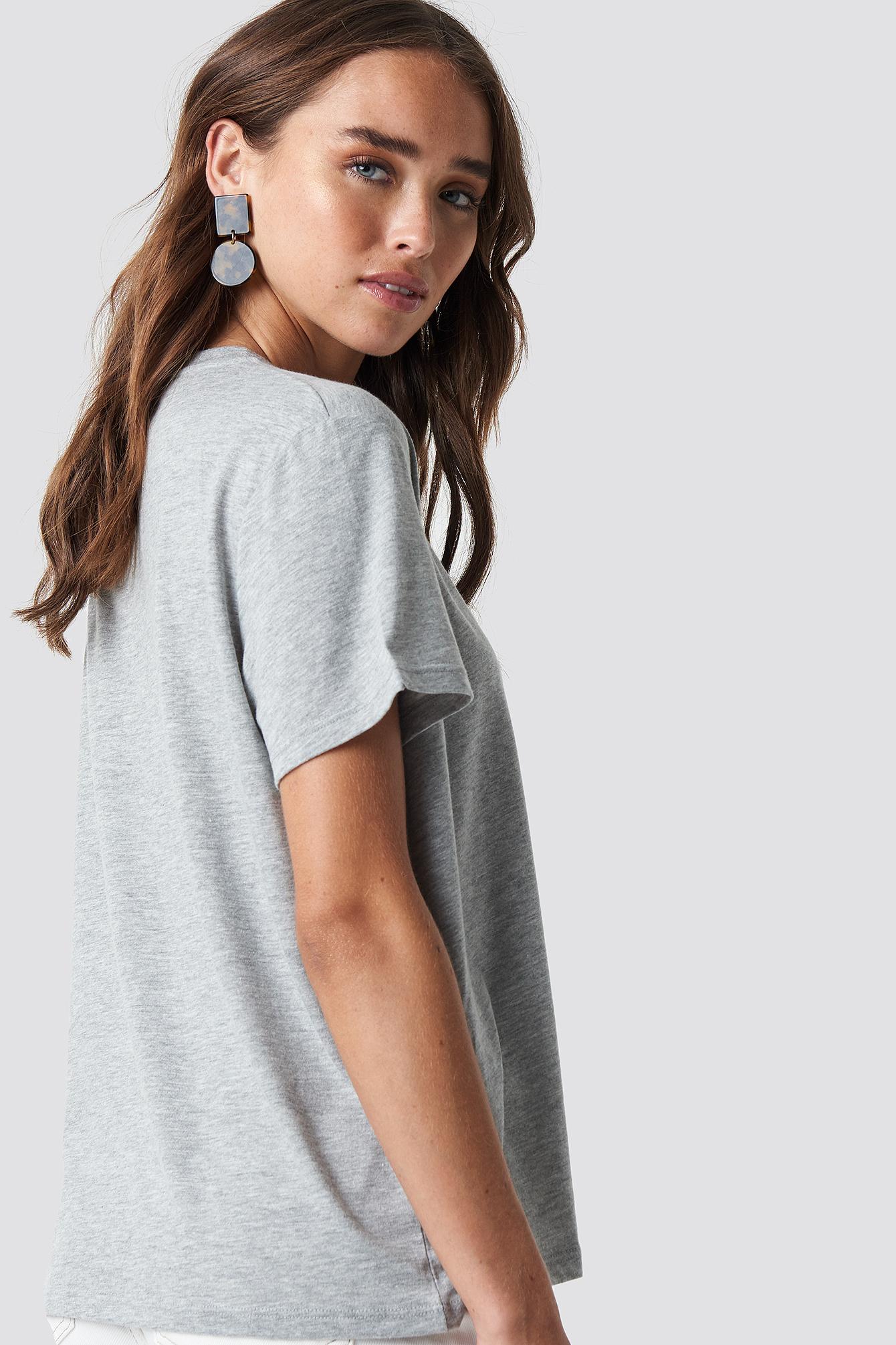 T-shirt oversize Loudly NA-KD.COM