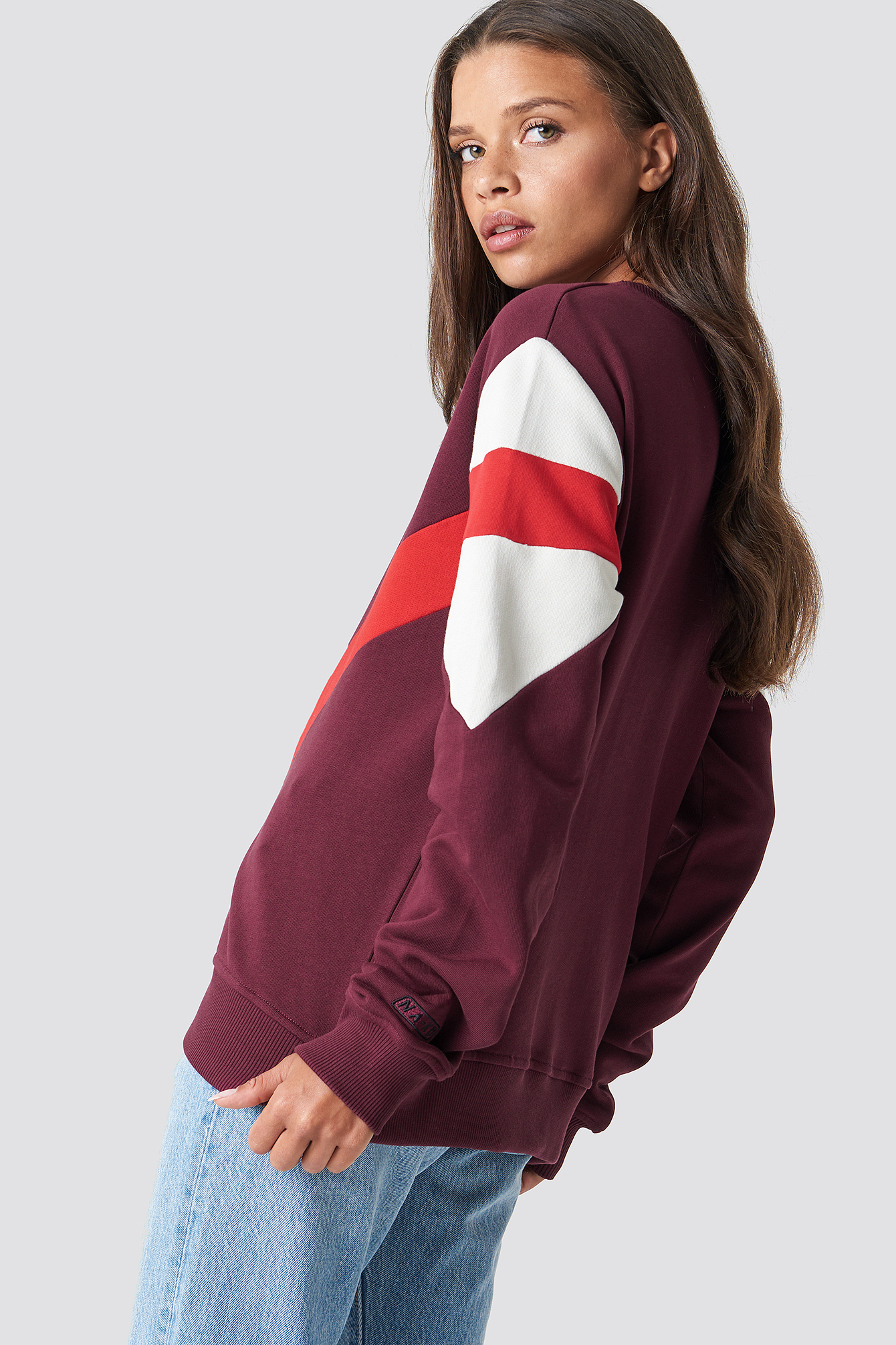 Multi Blocked Sweatshirt NA-KD.COM