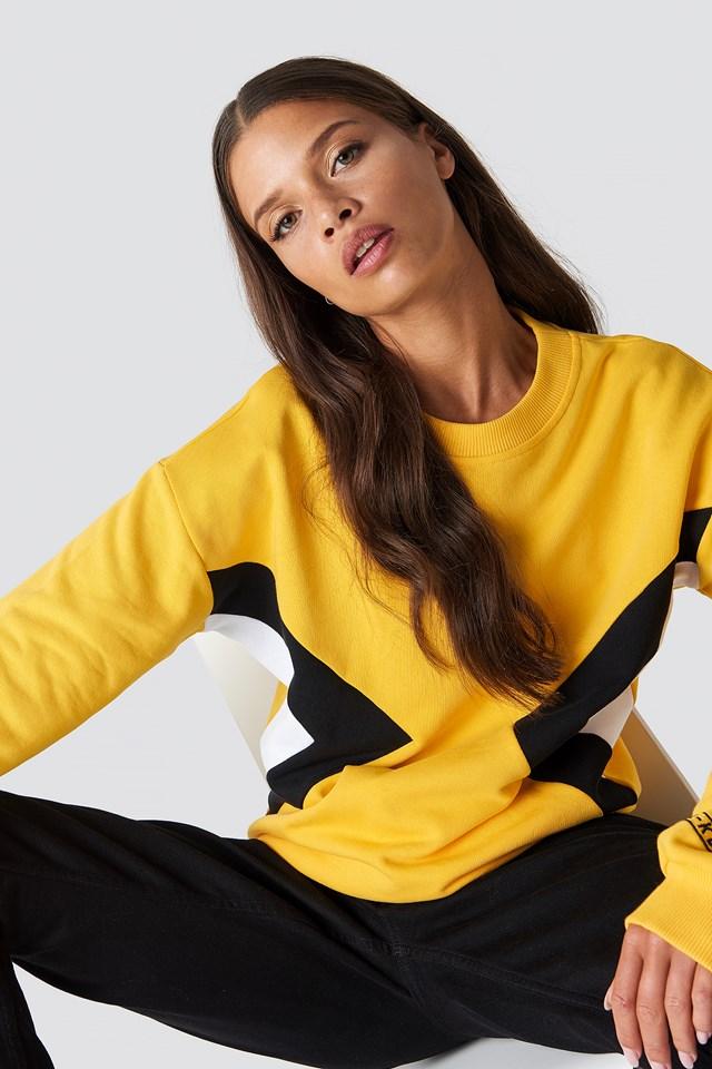 Blocked Side Sweatshirt NA-KD.COM