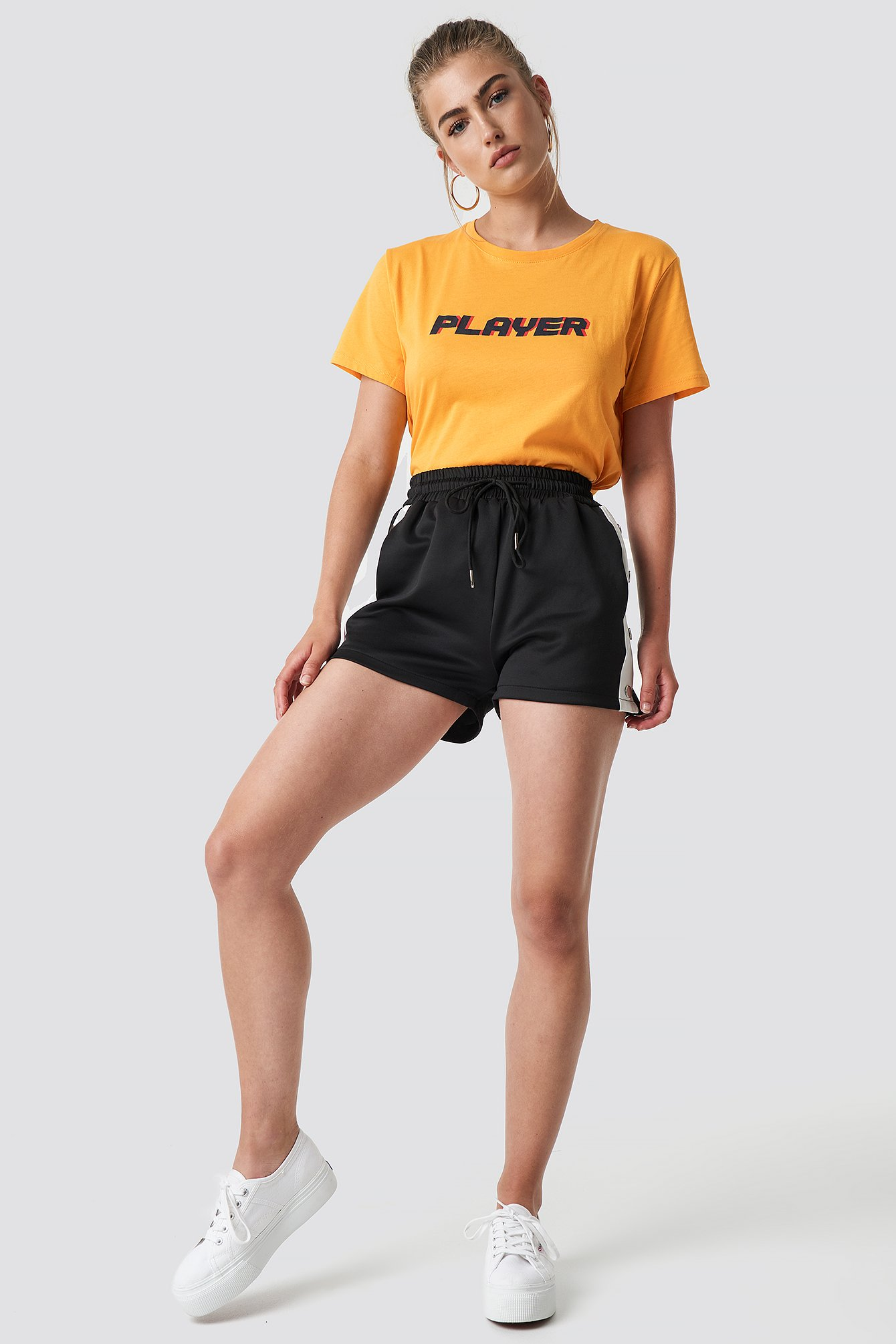 Dark Yellow Player Oversized Tee