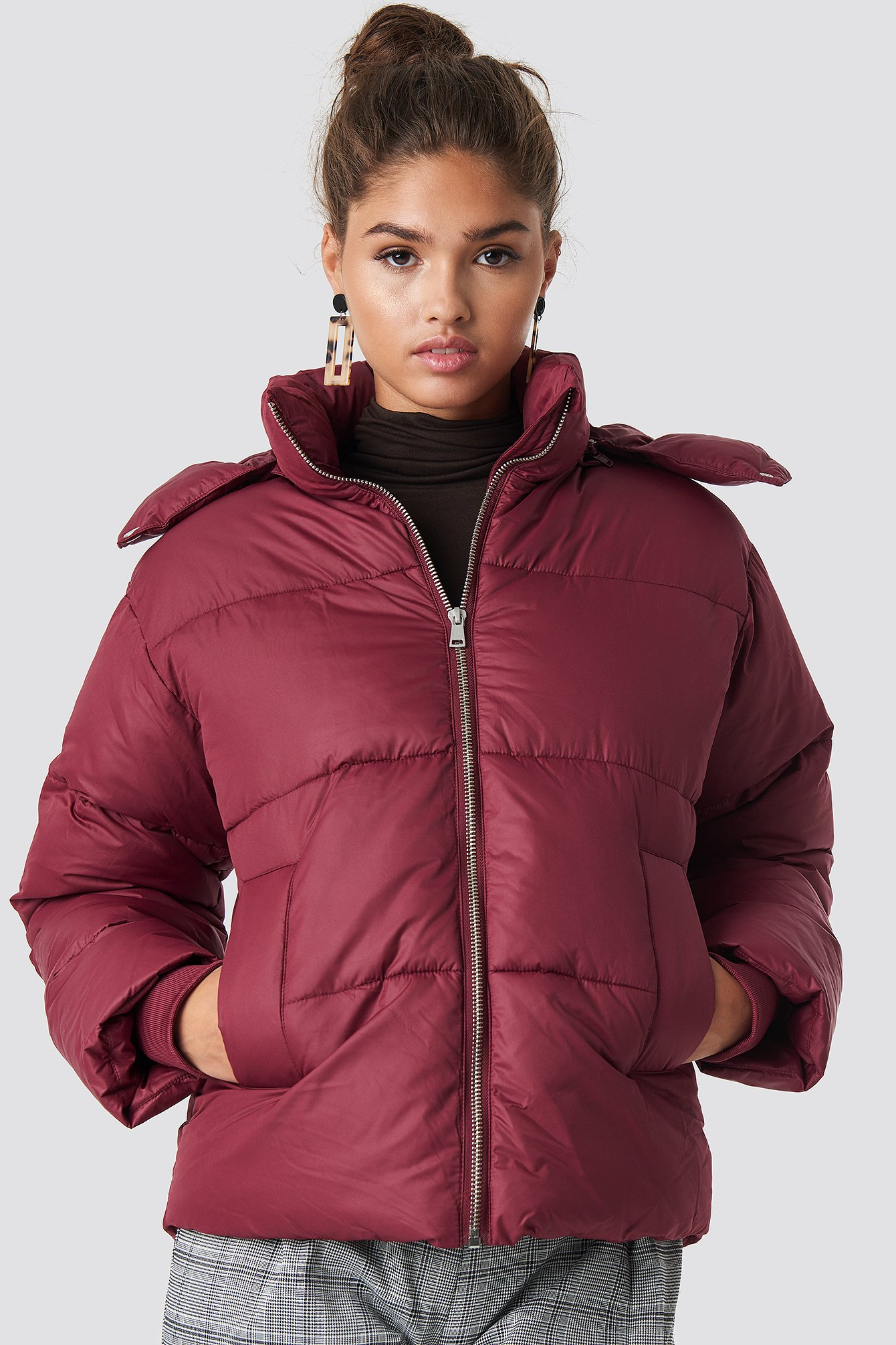 na-kd trend -  Puffer Jacket - Purple