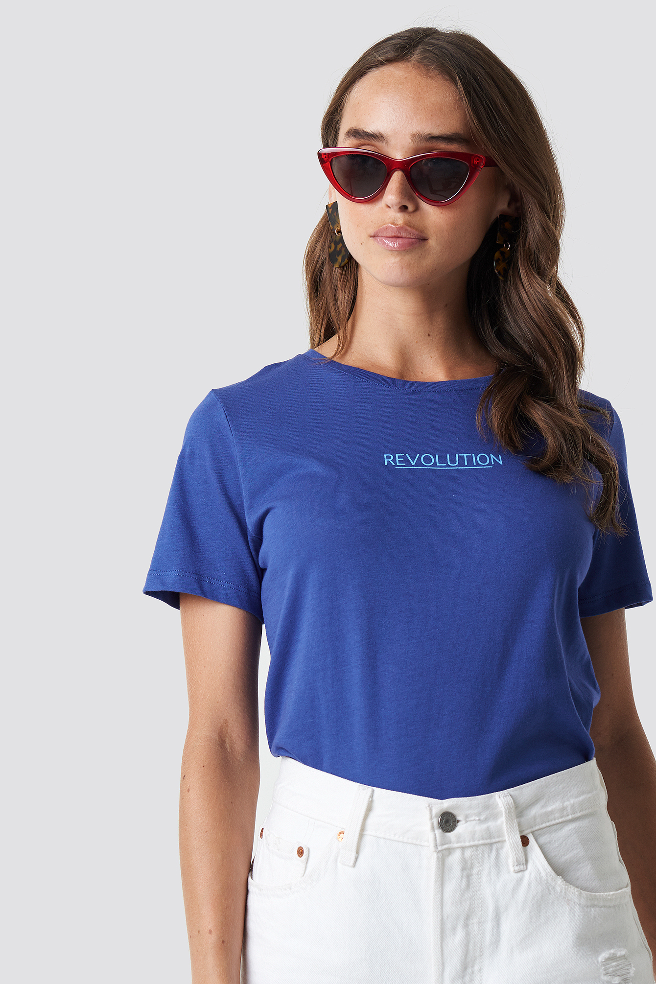T-shirt Revolution NA-KD.COM