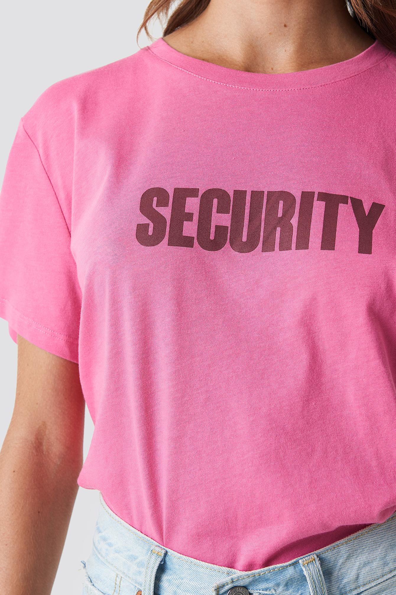 Security Oversized tee NA-KD.COM