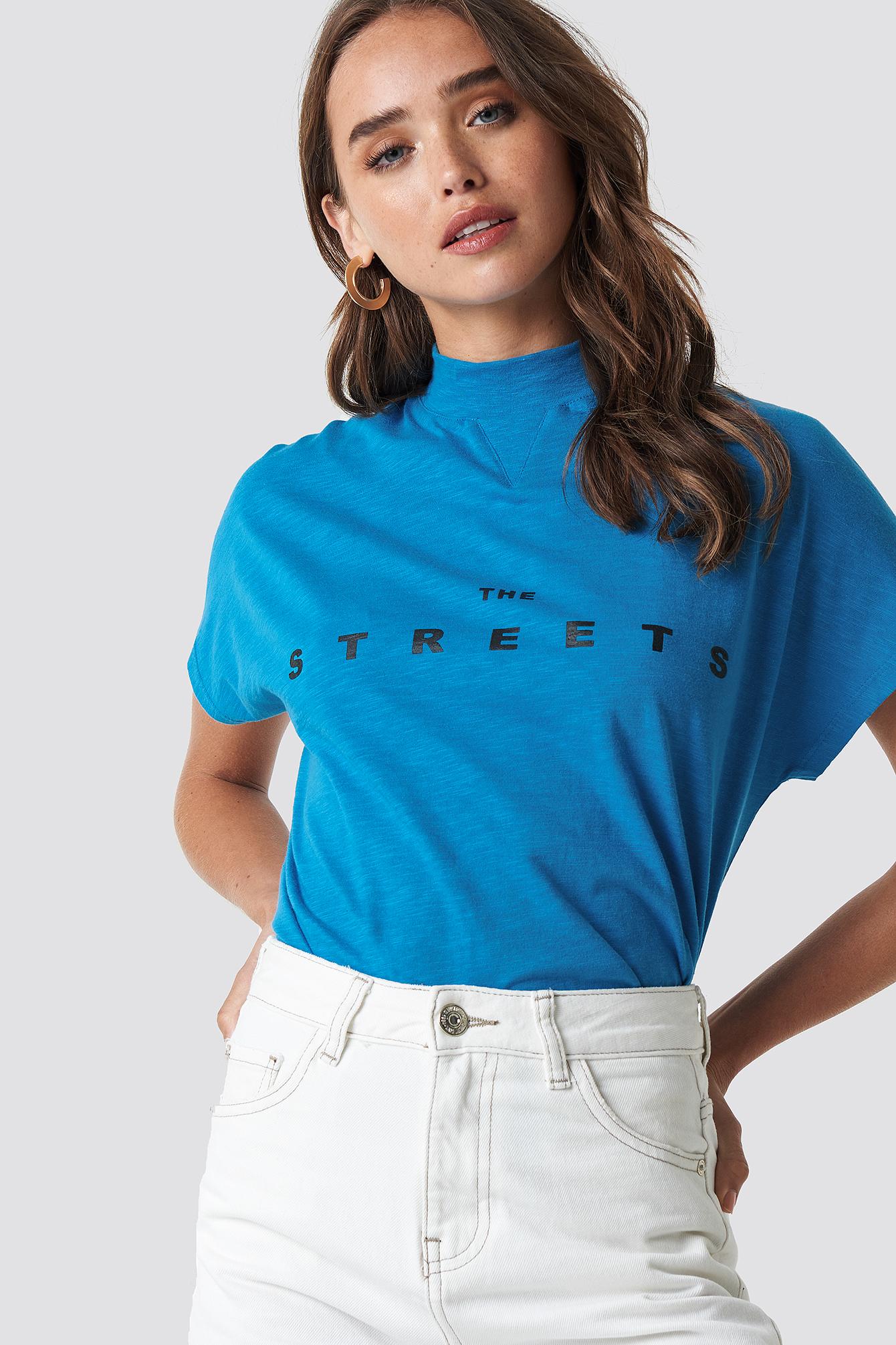 Streets Cap Sleeve Top NA-KD.COM