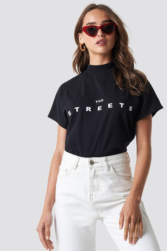 Streets Cap Sleeve Top NA-KD