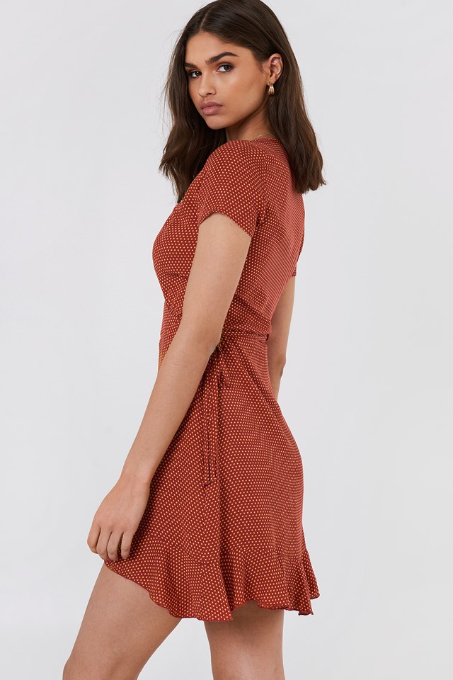 Andy Dress Dot Print