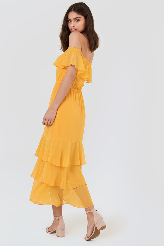 Baxter Dress Orange