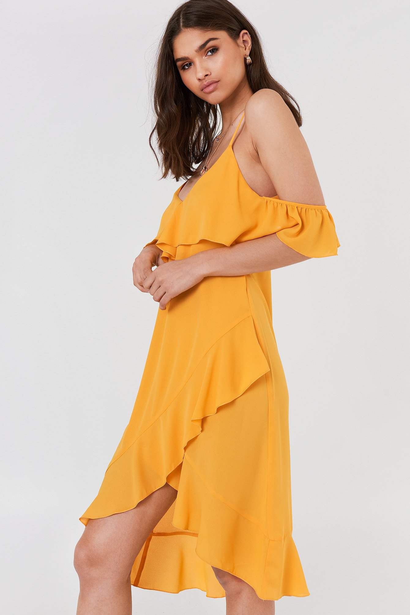 FAYT Heath Dress - Yellow