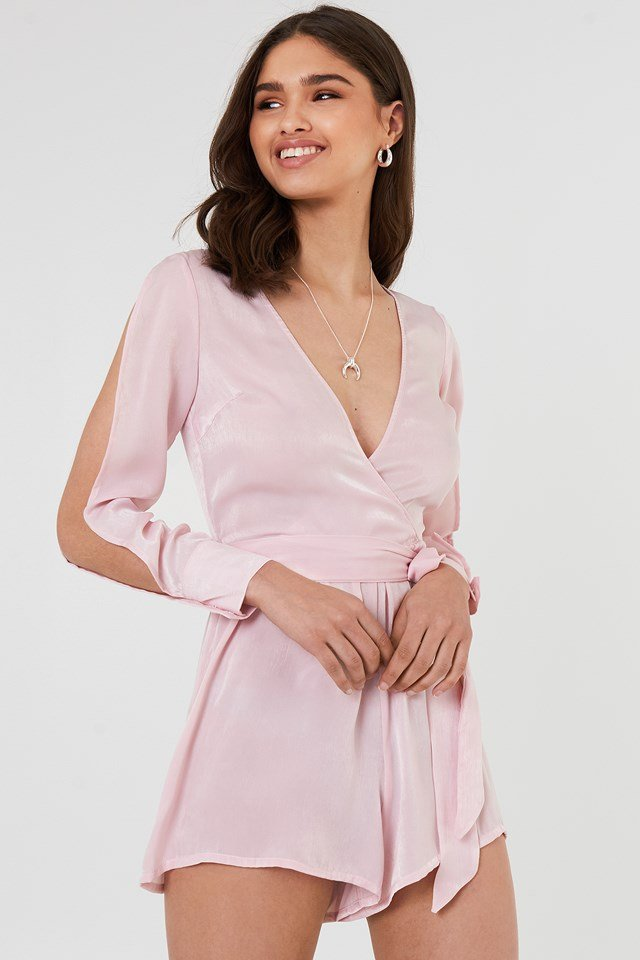 Kade Playsuit Light Pink