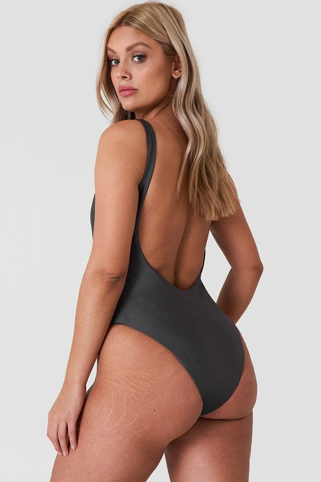 Keiran Swimsuit Dark Grey
