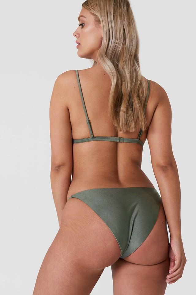 Kelvin Bikini Top Khaki