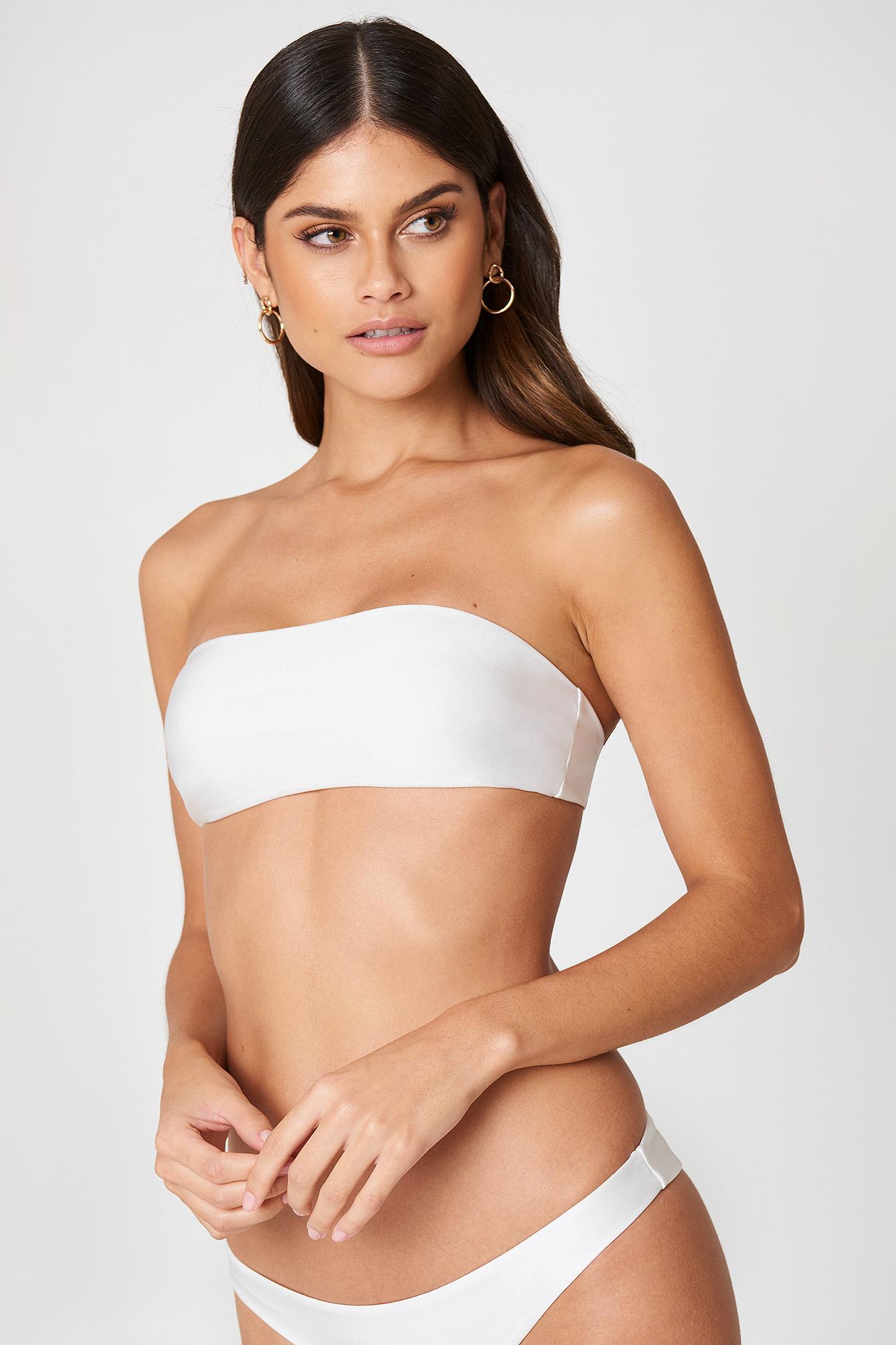 fayt -  Beau Bikini Top - White