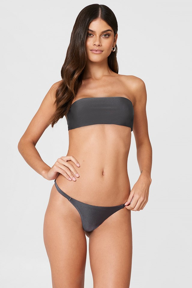 Brooks Bikini Bottoms Dark Grey