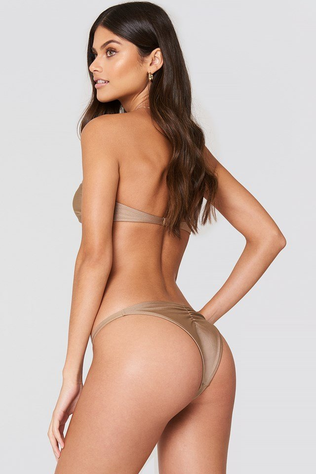 Brooks Bikini Top Tan