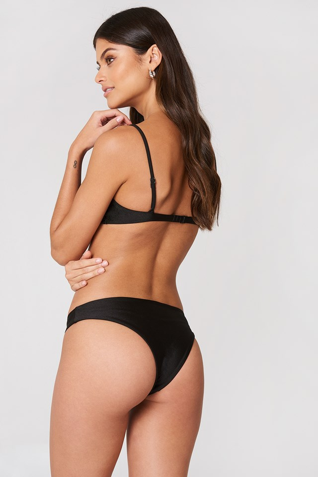 Eli Bikini Bottoms Black