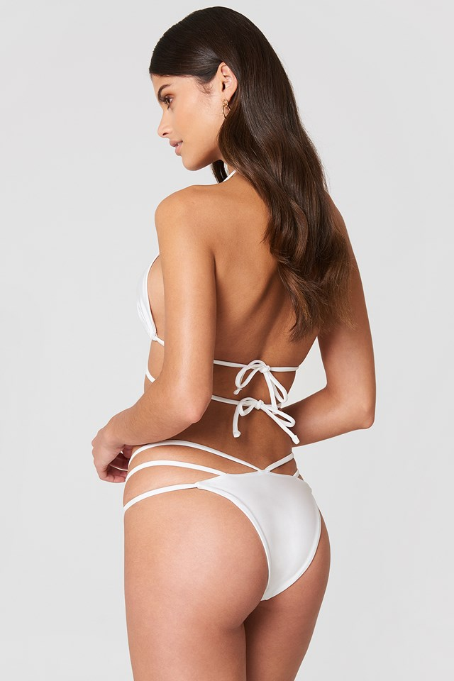 Isaiah Bikini Bottoms White