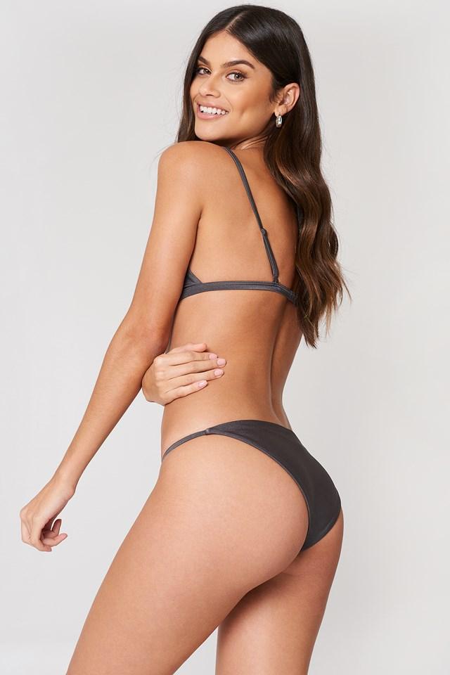 Kelvin Bikini Top Dark Grey