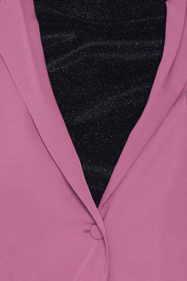 Porter Blazer Dark Rose