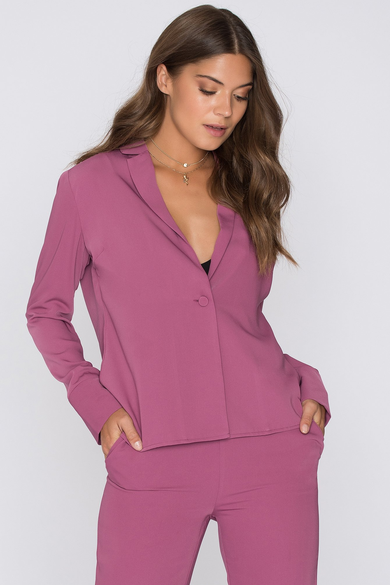 Dark Rose Porter Blazer