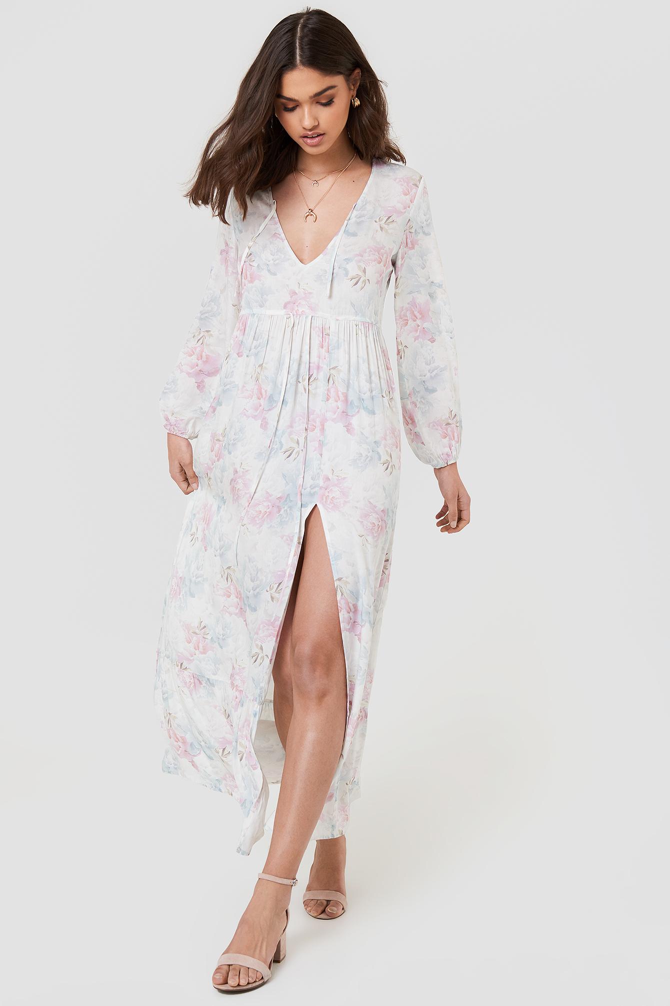 FAYT Roman Dress - White