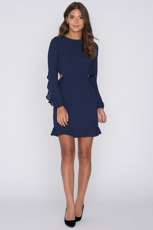 Zayden Dress Navy