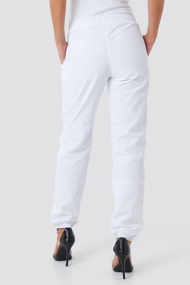 Alma Woven Pants Bright White