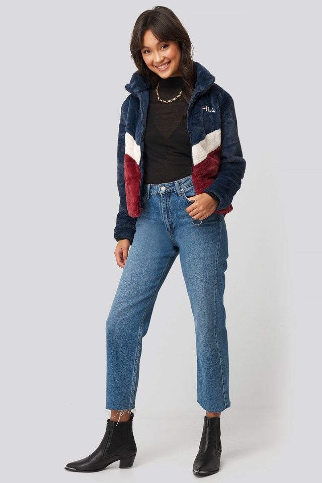 Charmaine Jacket Black Iris/Rhubarb/Whitecap