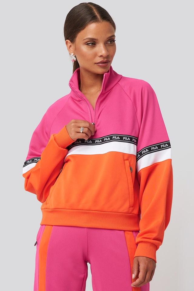Chinami Half Zip Shirt FILA
