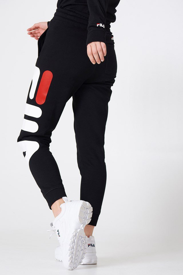 Classic Basic Sweatpants Black