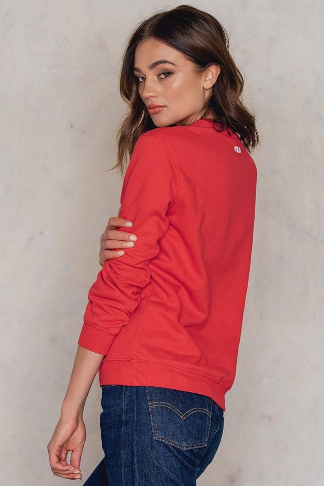 Classic Logo Sweatshirt True Red