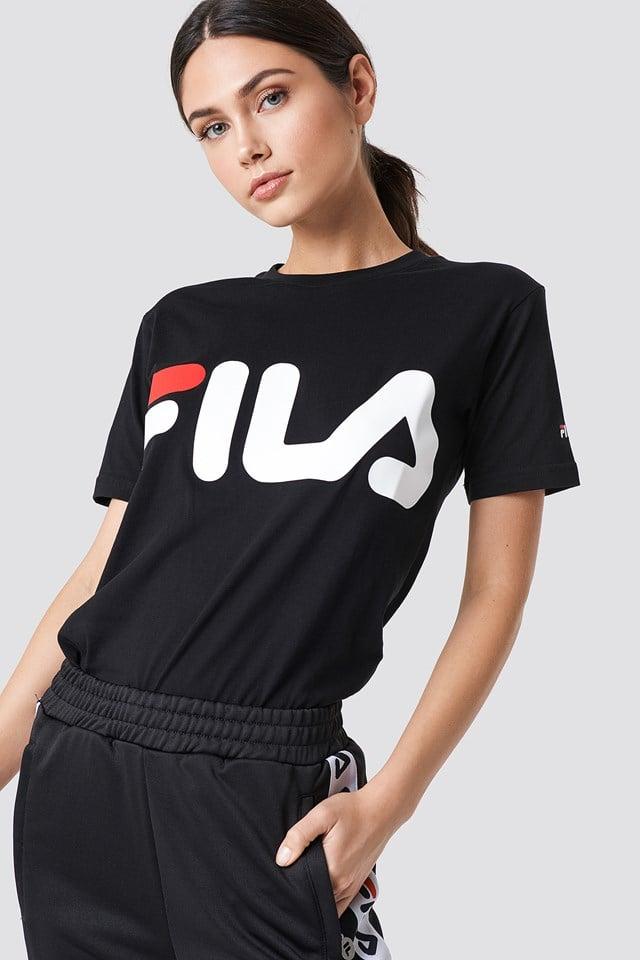 Klasyczny T-shirt z logo FILA