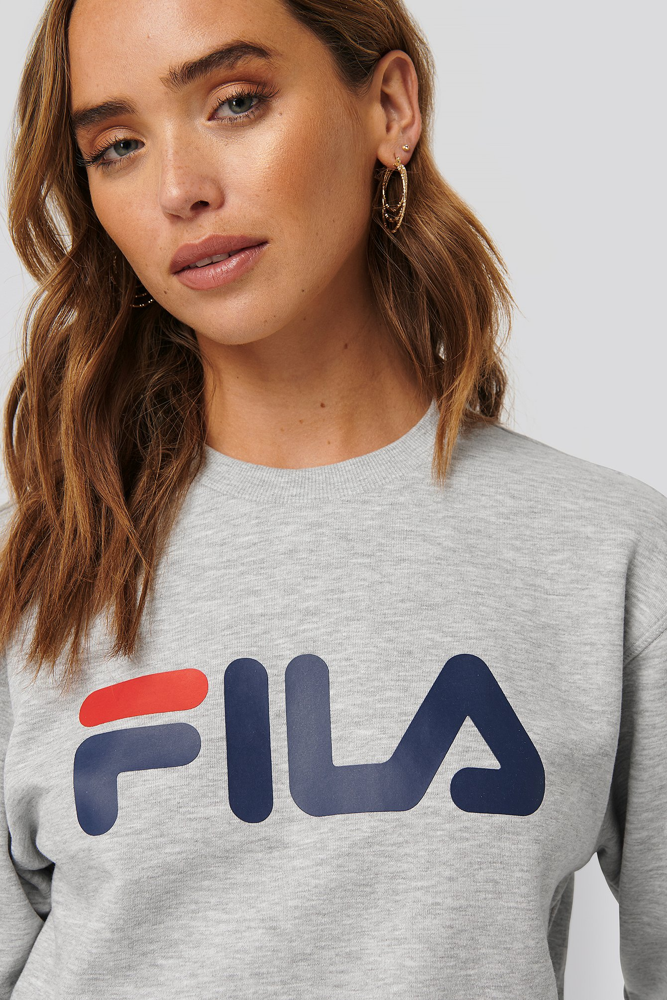 fila -  Classic Pure Crew Sweat - Grey
