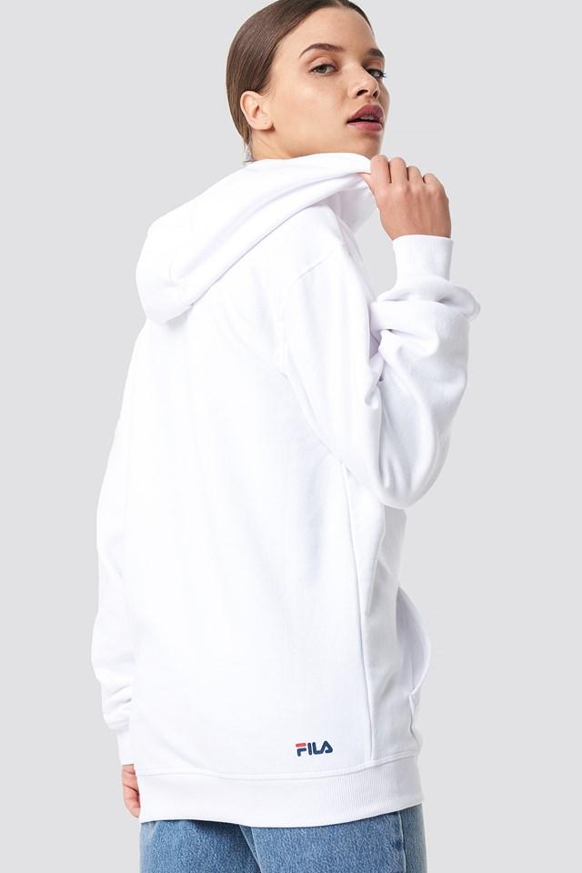 Classic Pure Hoody Kangaroo Bright White