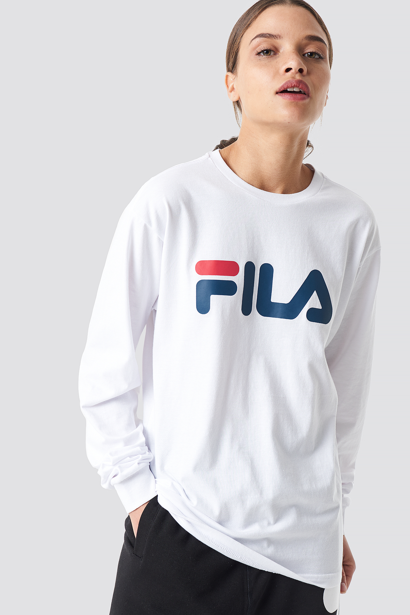 fila -  Classic Pure Long Sleeve Shirt - White
