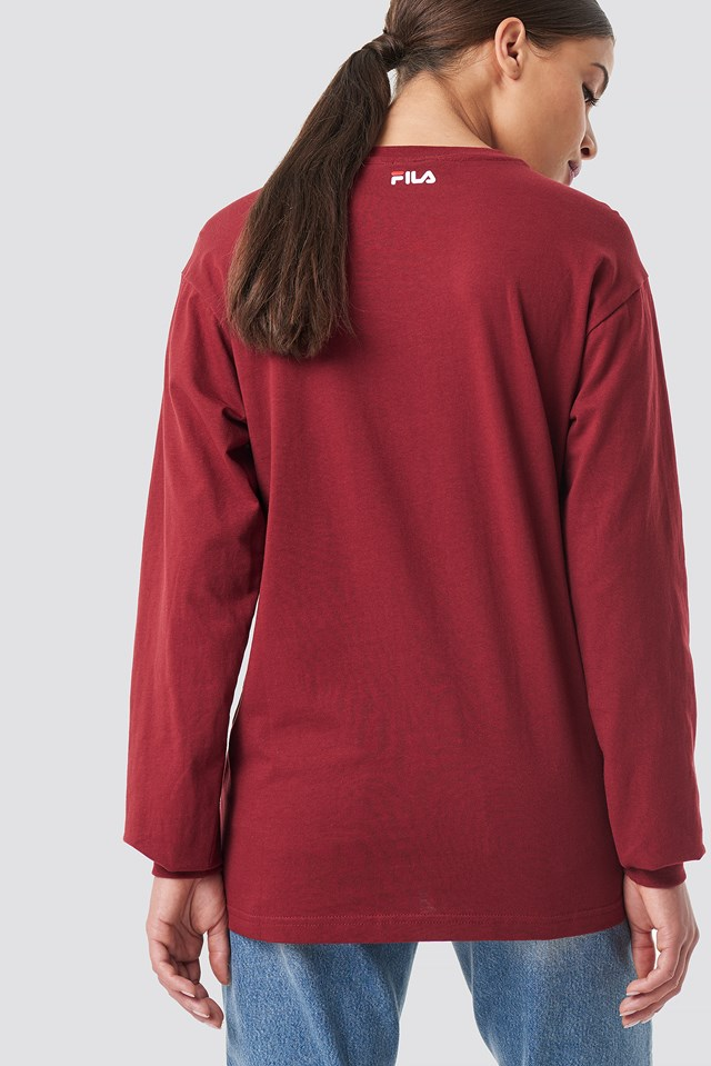 Classic Pure Long Sleeve Shirt Merlot