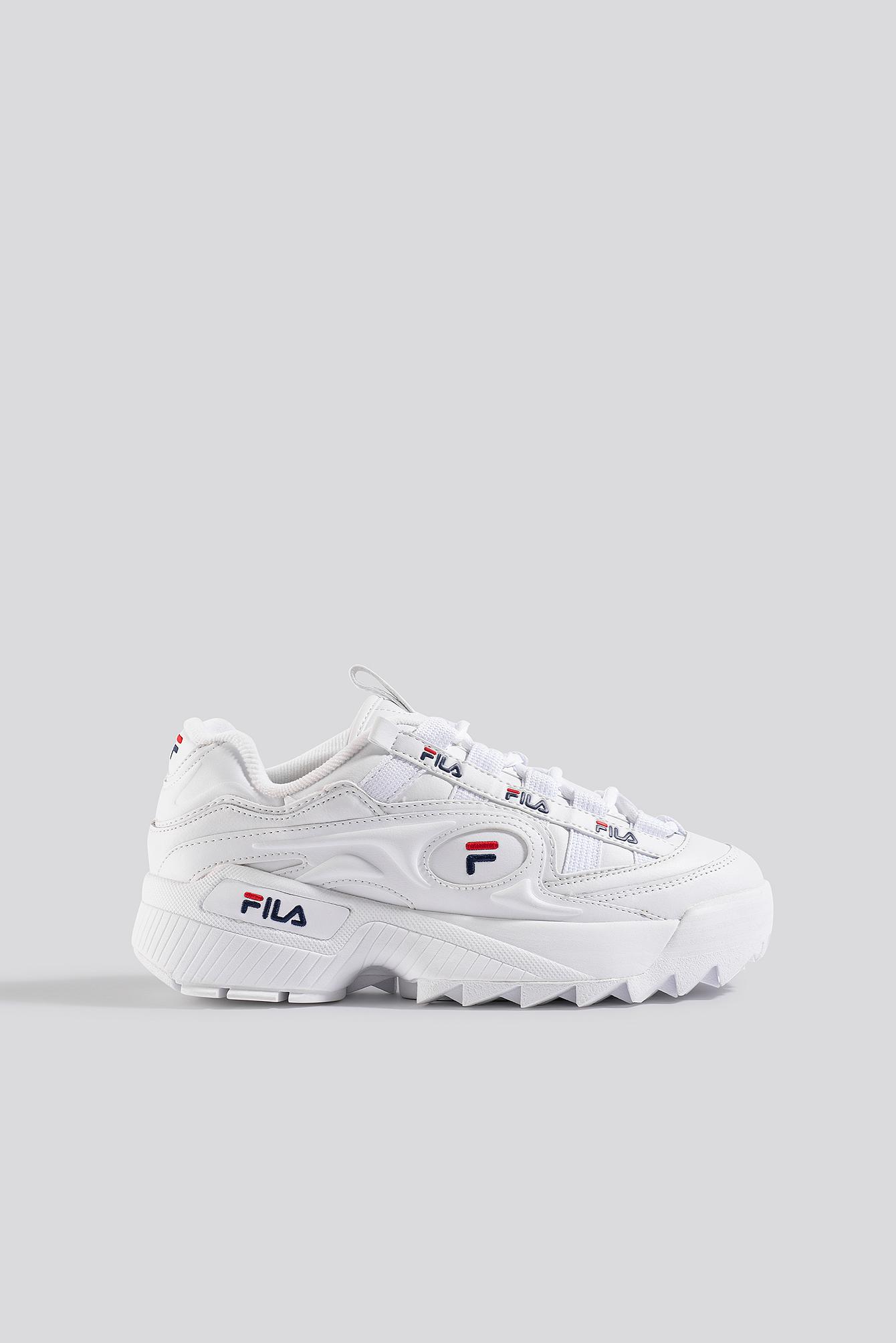 fila -  D-Formation Wmn Sneaker - White