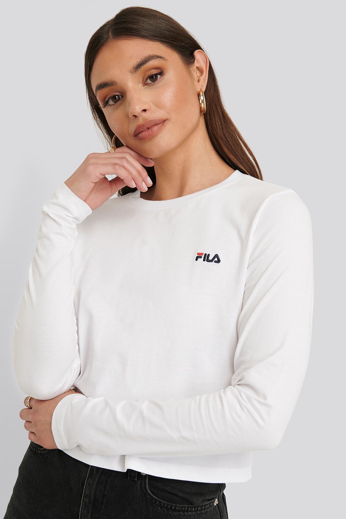 FILA Kurzes Hemd - White | Bekleidung > Blusen > Hemdblusen | Fila