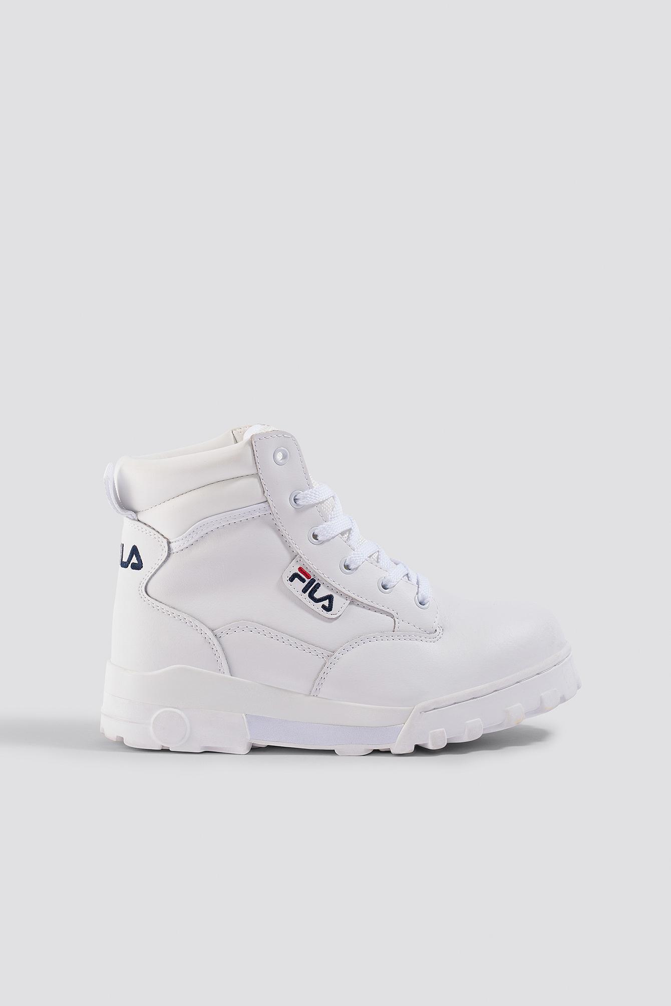 fila -  Grunge Mid Wmn Boot - White