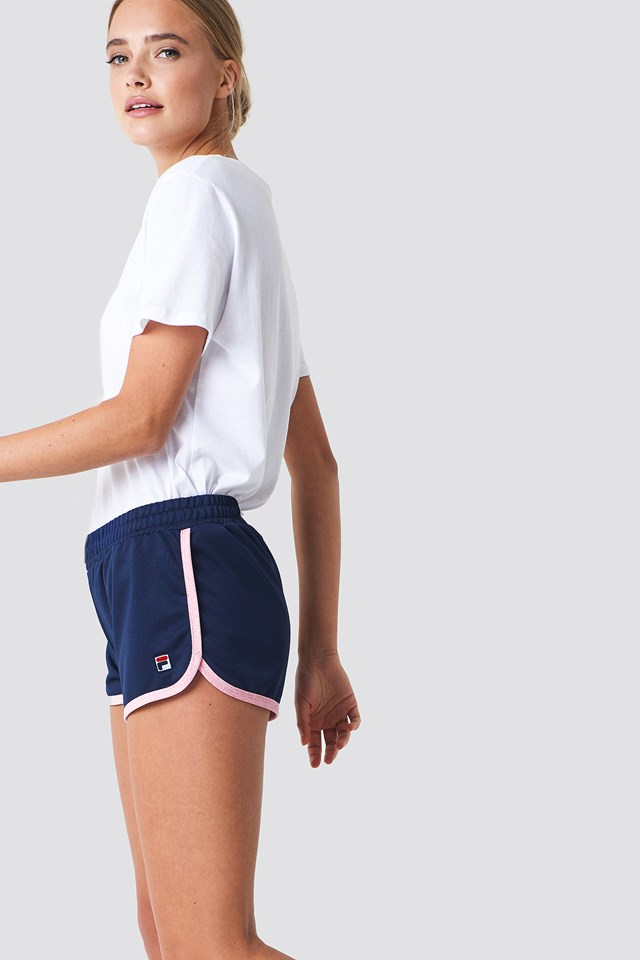 Paige Jersey Shorts Peacoat