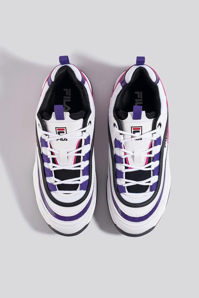 Ray CB Low Wmn Sneaker White/Tillandsia Purple/Black