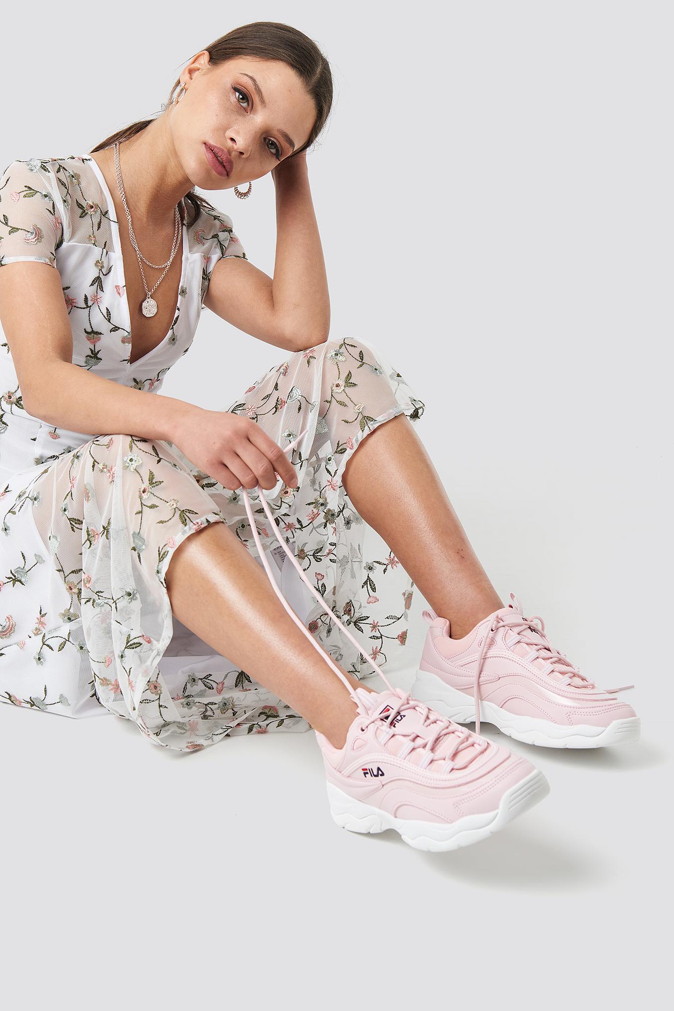 fila -  Ray F Sneaker - Pink